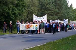 206. Friedensweg entlang des Truppenübungsplatzes (Foto: Kirsten Neubig)